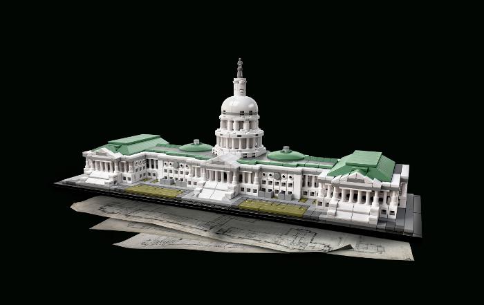 Capitol Building LEGO Architecture