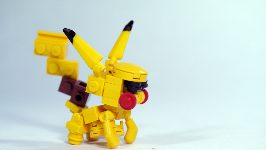 Make your own LEGO® Pokémon Pikachu