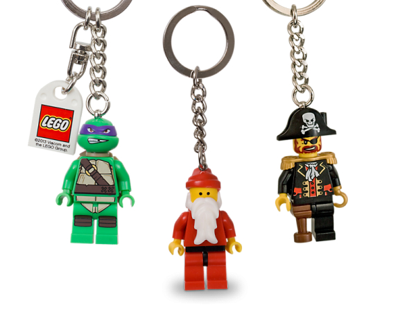 LEGO minifigure key chain