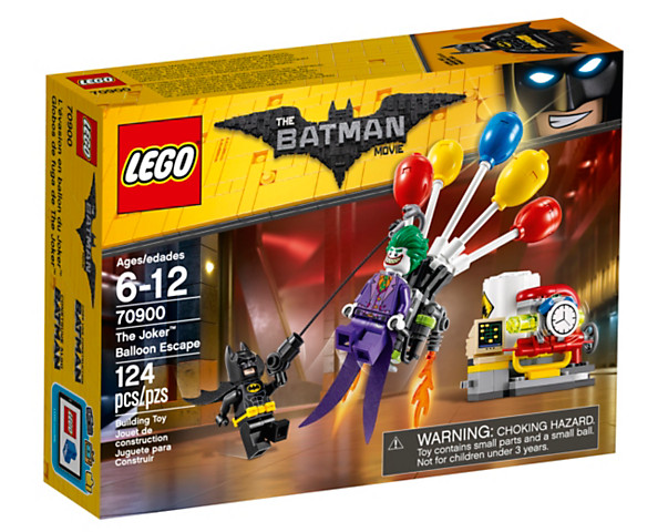 The Joker Balloon Escape LEGO set