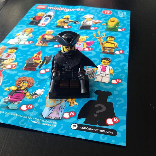 LEGO Minifigure Series 17 Highwayman