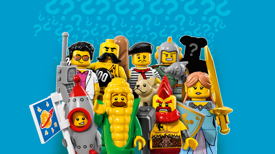 Say hello to 2017's LEGO® Minifigure Series