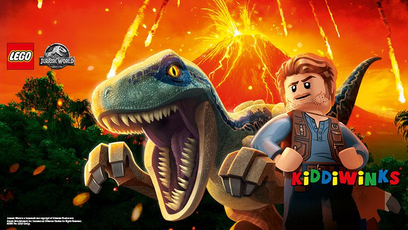 Jurassic World: Fallen Kingdom brings a whole new LEGO® series!