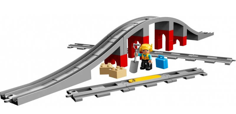 Kiddiwinks LEGO Train Bridge