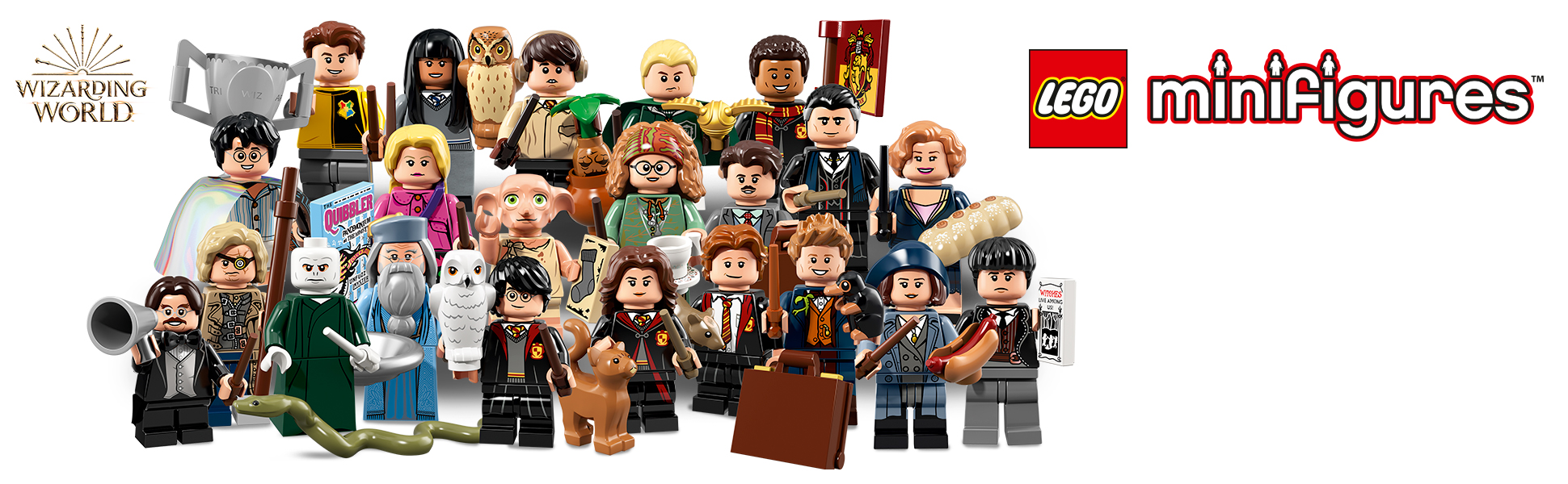 LEGO Harry Potter minifigures stocking filler christmas