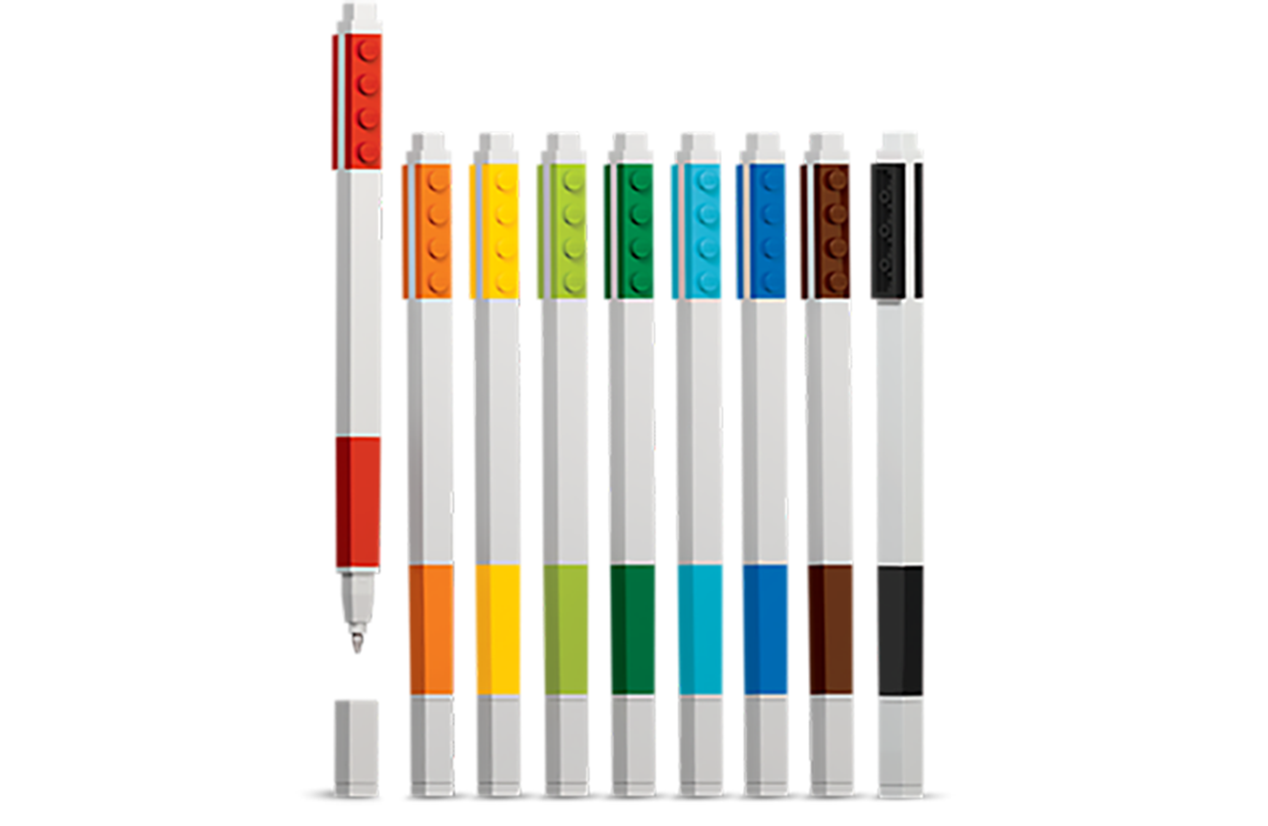 LEGO gel pens stocking filler christmas stationery