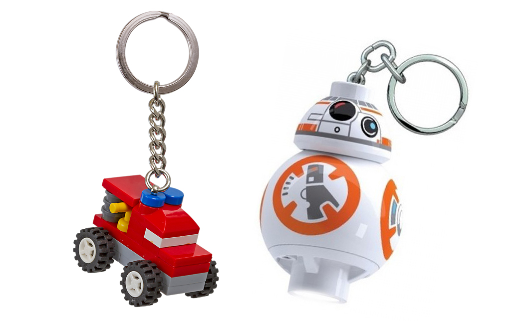 lego keychains stocking filler christmas