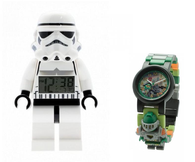 LEGO StarTrooper clock LEGO Nexo Knights watch