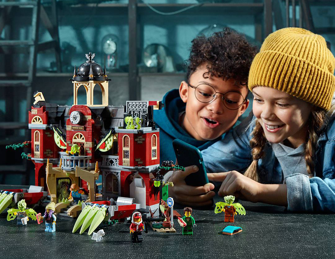 Will LEGO® Hidden Side™ engage the app generation?