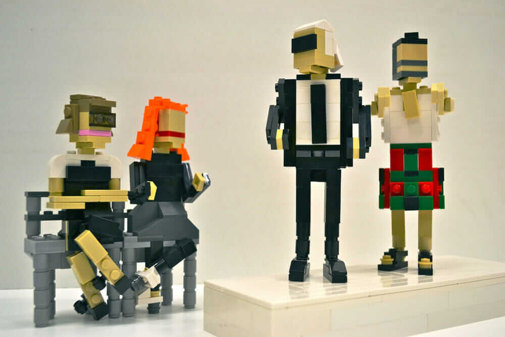 LEGO Fashion Week by Veronica Watson featuring Anna Wintour, Grace Coddington, Karl Lagerfeld, Marc Jacobs.
