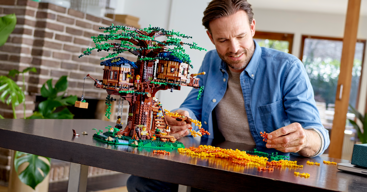 What's green about LEGO® bricks?